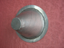 stainless steel filter caps