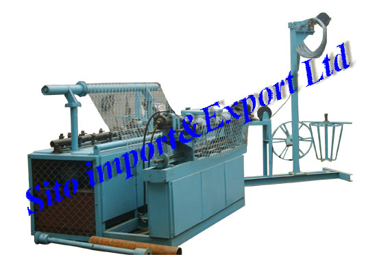 Chainlink Fence Machine/Wire Mesh Fence Machine/Fence Netting Machine/Chailink Fence Equipment