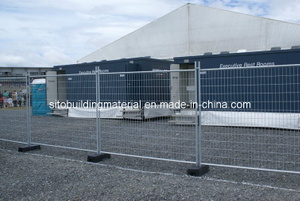 Welded Fence Panel/Isolation Fence Panel/Temporary Fence/Welded Steel Pipe Fence