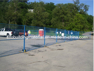 Traffic Barrier/Temporary Fence/Steel Pipe Fence/Crowded Control Fence
