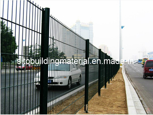 PVC Coated Fence Panel/Welded Wire Mesh Fence/Strong Fence Panel /Metal Wire Fence