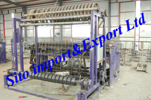Fence Netting Machine, Wire Mesh Fence Equipment, Field Fence Machine