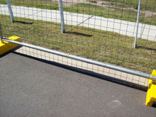 Temporary Fence Panel/Steel Pipe Fence/Fence Panel/Isolation Fence Panel
